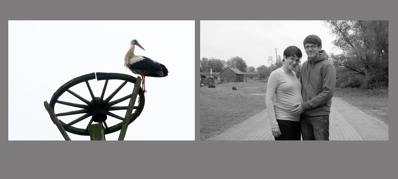 """"""" Menschen auf dem Dowitzweg-  ein anhaltinisches Dorf im Havelland.""""  fotografiert am 7.12.2010 von Christiane Eisler.Hier Alexandra mit ihrem Freund."""