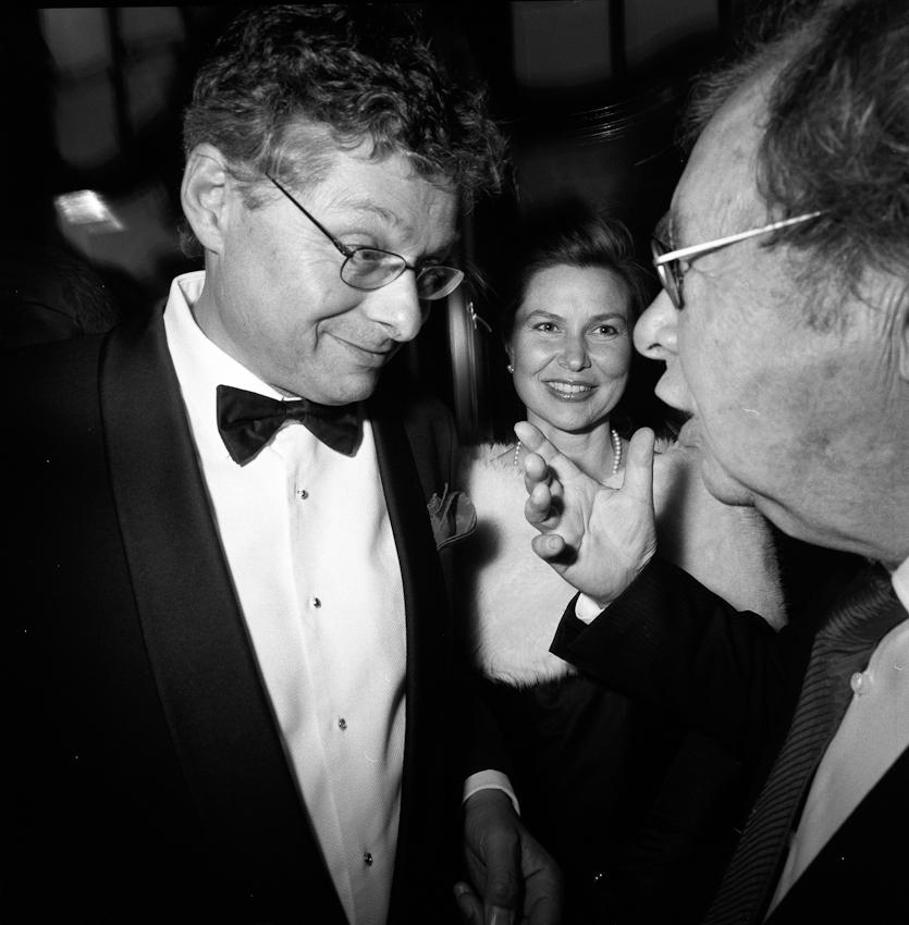 Verleihung des Henri-Nannen-Preises im Hamburger Schauspielhaus. Matthias Matussek (Der Spiegel) und Hellmuth Karasek