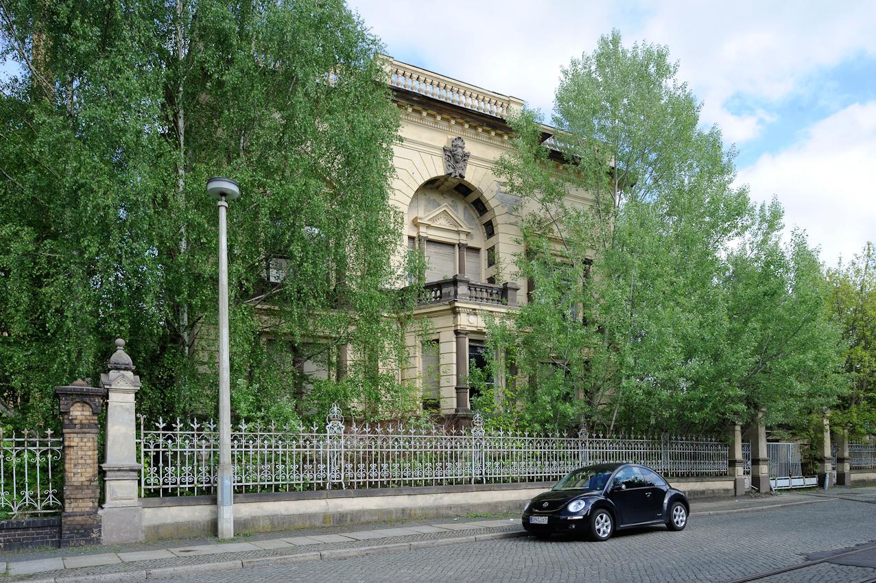 Fabrikantenvilla in der Planckstraße.