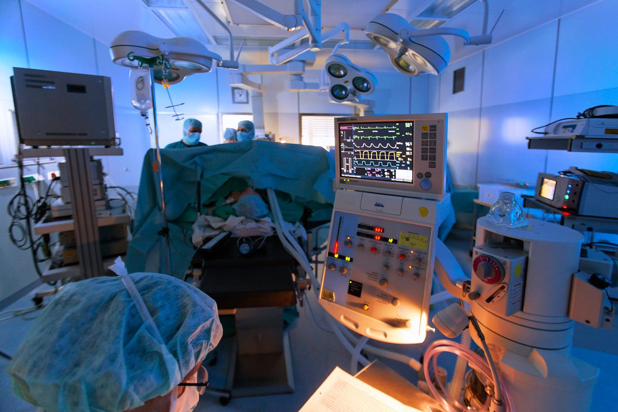 Im Rahmen von ETD fotografierte ich in der Notaufnahme, im OP und danach im neuen Intensivmedizinischen Zentrum.