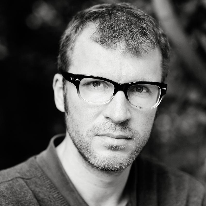 Der Schriftsteller Andreas Maier, Portraitfoto, aufgenommen am 07.10.2010 in Frankfurt am Main