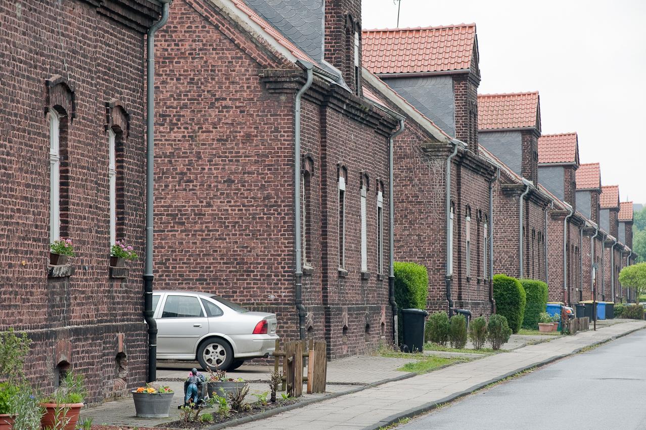 Zechensiedlung in Essen Katernberg