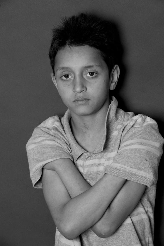 Tafa, 9 Jahre, seit September 2009 im Heilpädagogischen Hort.