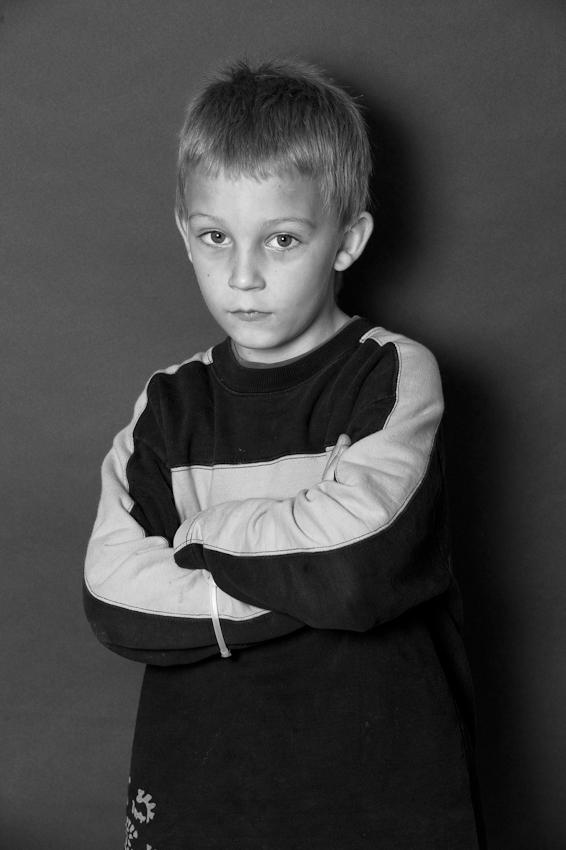 Nico, 8 Jahre, seit Mai 2009 im Heilpädagogischen Hort.