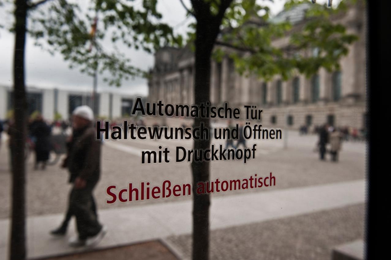 Reichstag, Platz der Republik.