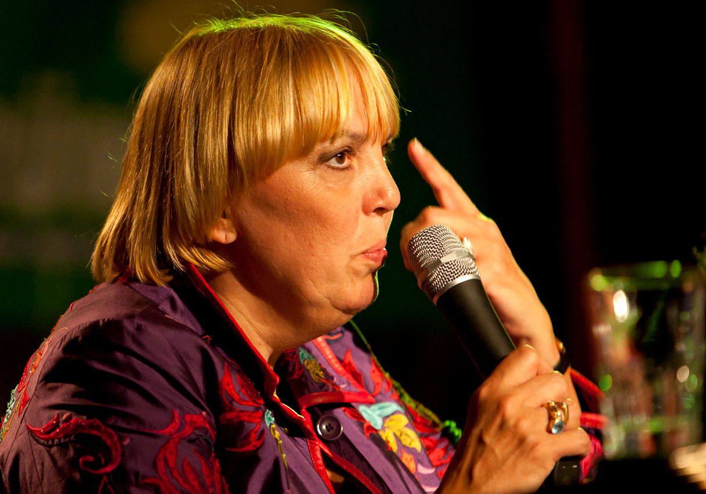 Bundesvorsitzende Claudia Roth.