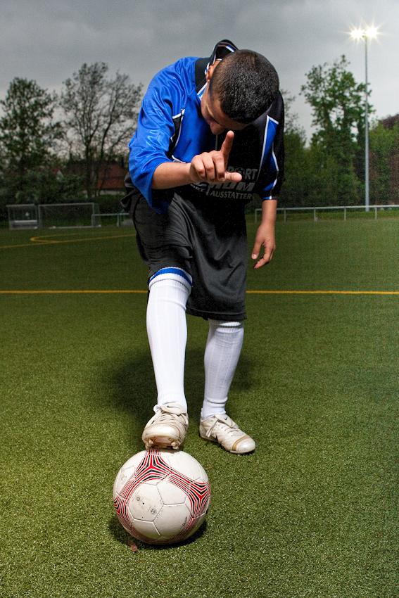 DJK Wattenscheid, Training der C-Jugend (1. Mannschaft).