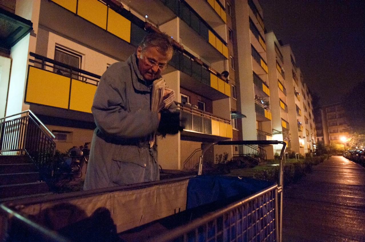 03.55 Uhr. Doris Kramer ist unterwegs, wenn die meisten noch schlafen.