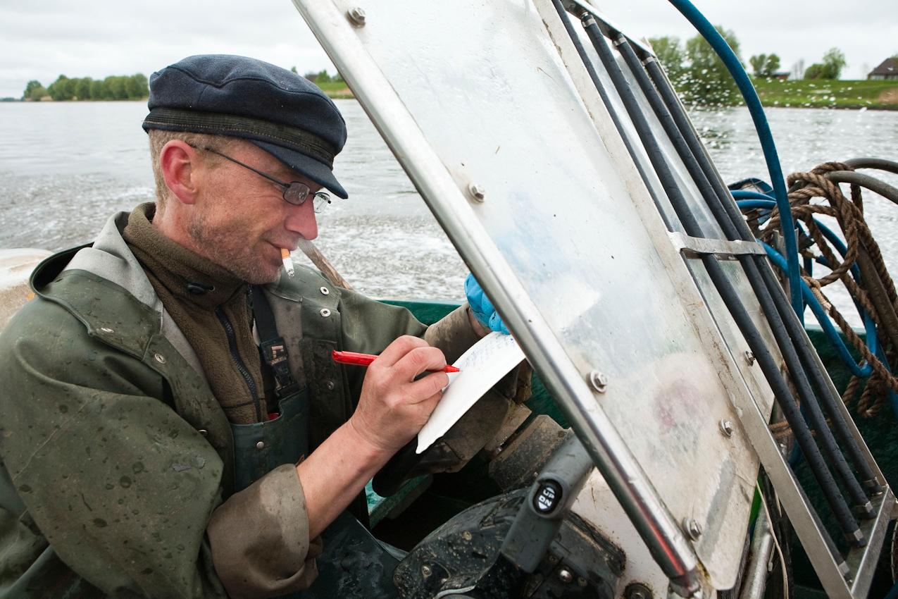 Hinnerk Groth aktualisiert seine Notizen über die Standorte der Reusen.