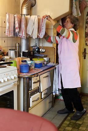 Sophie Brecheisen in der Küche