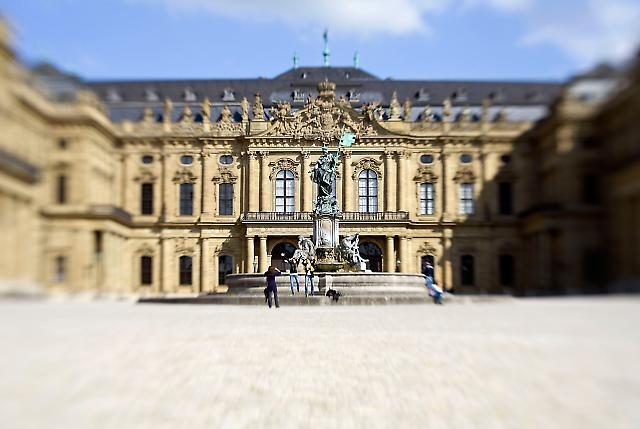 Die Residenz in Würzburg. Unesco Weltkulturerbe.